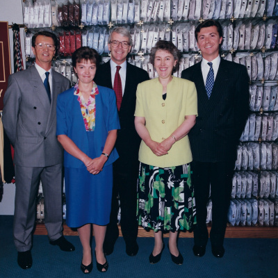 centenary with the former Prime Minister 1993